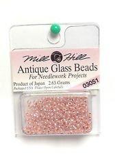 Perlas Para Coser De Vidrio Misty 2.5mm Mill Hill