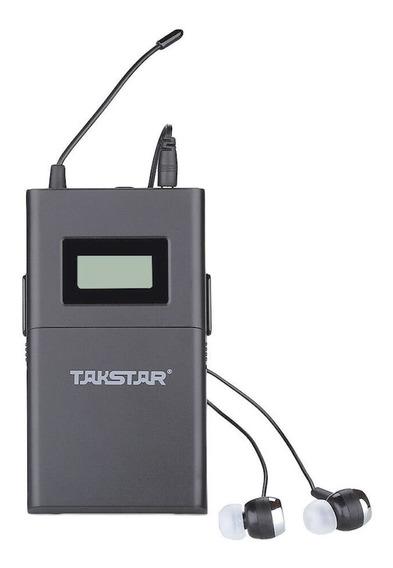 Takstar Wpm 200r Receptor Inalámbrico C/ Auric Para Wpm-200