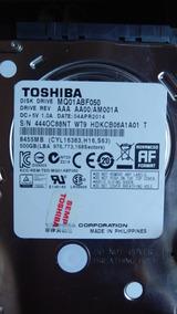 Toshiba Disk Drive Mq01abf050m De NotebookFormato: 2.5 -