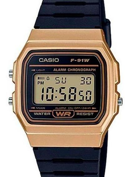 Relógio Casio Unissex Vintage F-91wm-9adf-br