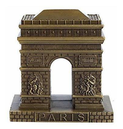 Prow - Estatua De Bronce Vintage Del Arco Del Triunfo De Par