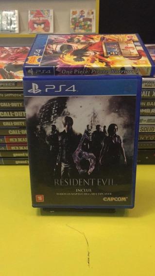 Resident Evil 6 Ps4 Jogo Mídia Física Semi Novo