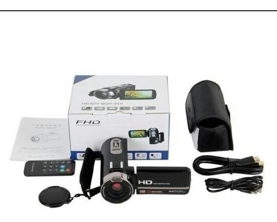 Câmera Filmadora Full Hd 1080p Câmara De Video Zoom Digital
