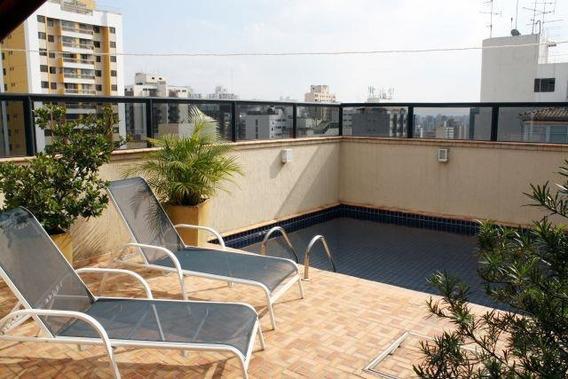 Apartamento Duplex Com 4 Dormitórios À Venda, 345 M² Por R$ 2.750.000,00 - Perdizes - São Paulo/sp - Ad0091