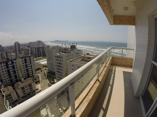 Imagem 1 de 23 de Cobertura Nova Vista Mar  Com 3 Dormitórios À Venda, 157 M² Por R$ 800.000 No Parcelamento Direto- Mirim - Praia Grande/sp - Co0071