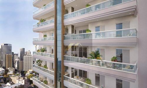 Lançamento , Apartamento Com 2 Dormitórios Sendo 1 Suíte , 2 Vagas De Garagem, Bairro Guilhermina, Praia Grande/sp. - Ap1798