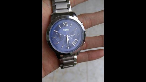 Relógio Masculino Skmei Azul Original