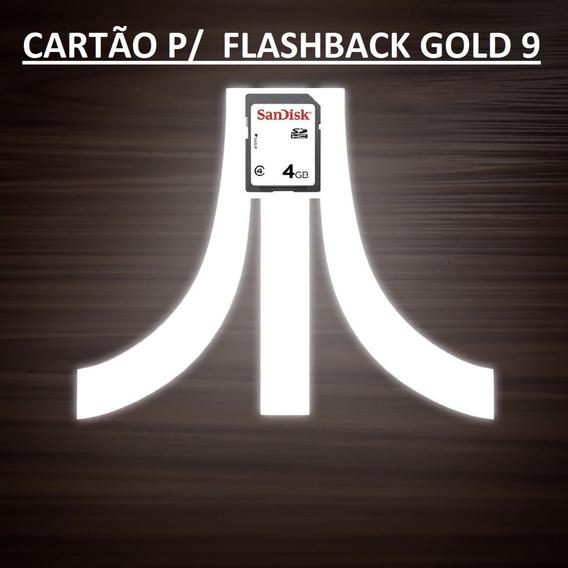 Cartão De Jogos P/ Atari Flashback Gold 9 +de Mil Brindes