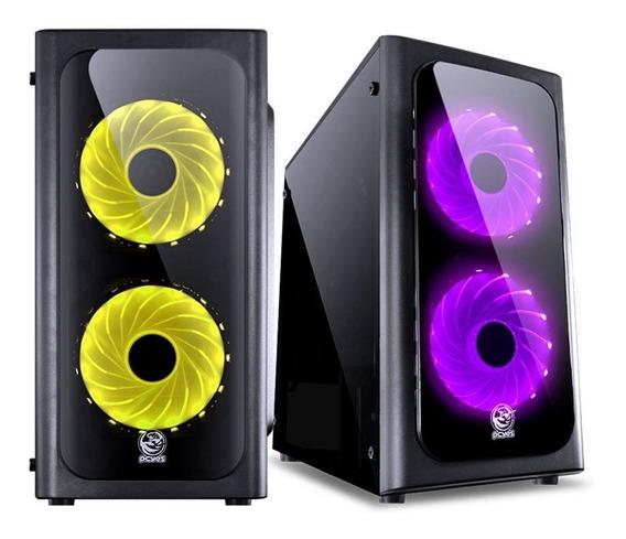 Pc Cpu Gamer Ryzen 3 2200g 8gb Ddr4 B350 Hd 500gb 500w Reais