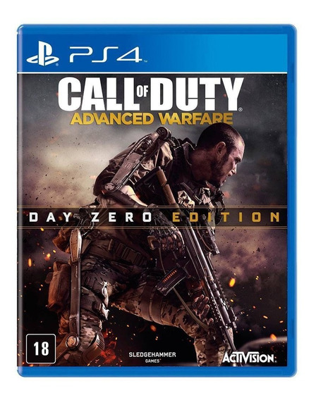 Jogo Call Of Duty: Advanced Warfare - Edição Day Zero - Ps4