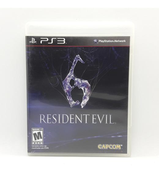 Resident Evil 6 Ps3 Midia Fisica Portugues Jogo Game Play 3