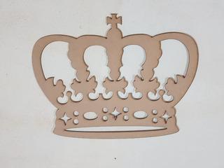 Corona De Mdf En 3 Mm 80 X60 Cm Decoración Para Colgar