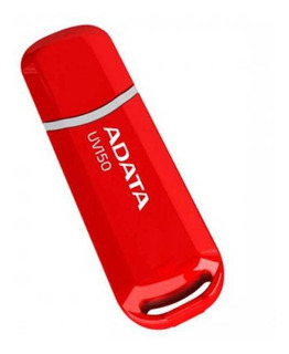 Memoria USB ADATA UV150 64GB rojo