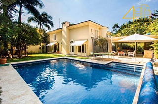 Jardim Paulistano - Elegante Casa 402m² 03 Suítes 07 Vagas Na Rua Manduri Para Venda. - Ca0180