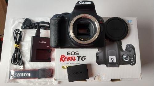 Câmera Canon Rebel T6 (corpo)