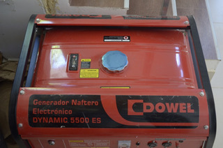 Generador Elec, Dowel Modelo Dinamic 5500 Es C/ Bat. Nueva