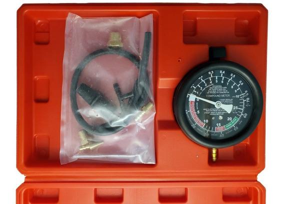 Vacuómetro Probador Para Bomba De Gasolina -28 Inhg A 10 Psi