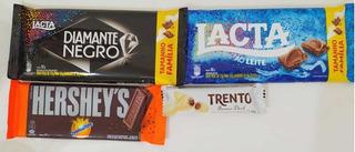 Kit De Barras De Chocolates Diamante Negro, Lacta, Hershey
