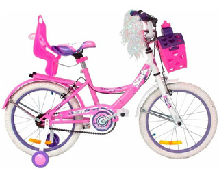 Bicicleta De Aluminio Fashion Flowers Stark R16 (cuotas)