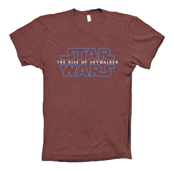 Star Wars Playera The Rise Of Skywalker Hombre Mujer Niño
