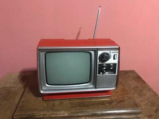 Tv Zenith Espacial Rojo Vintage Palermo