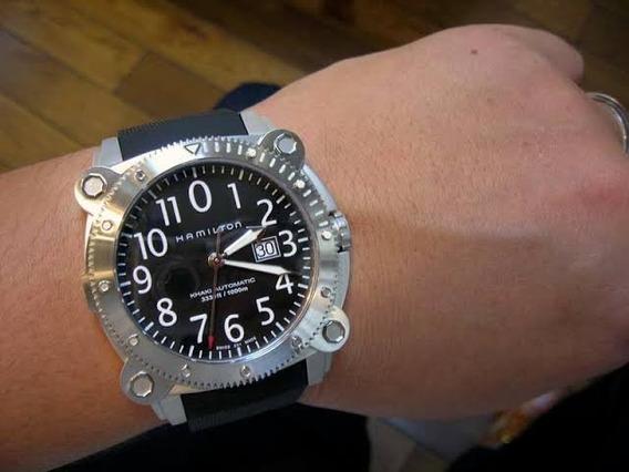 Relógio Hamilton Below Zero Automático (2 Pulseiras)
