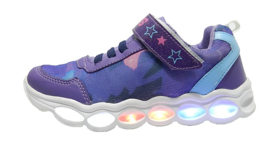 Zapatillas Plumitas De 25 Al 36 Con Luz Y Cargador 5774 4665