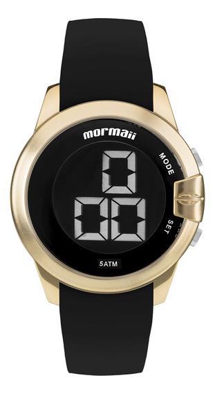 Relógio Digital Mormaii Luau Dourado Mobjt007/8d