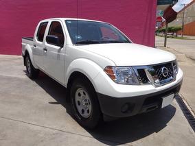Nissan Frontier 4x2 V6 Crew Cab 2014 Blanco