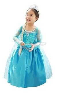About Time Co Princesa Niñas Snow Queen Vestido De Fiesta D
