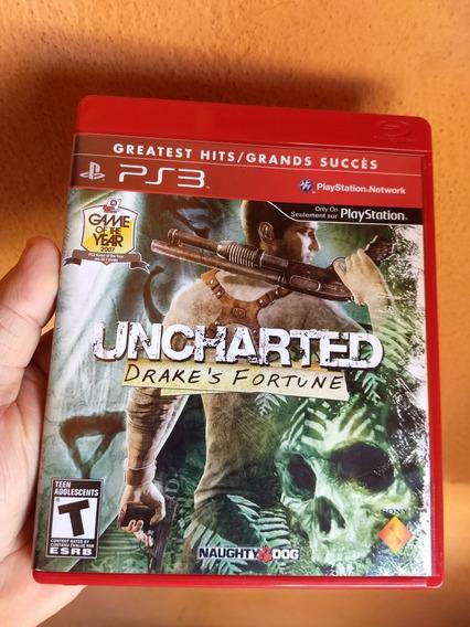 Uncharted 1 Ps3 Midia Fisica Semi Novo