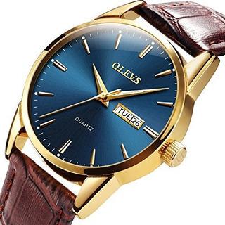 Ypf Olevs Reloj De Pulsera Para Hombre Estilo Retro Color Ro