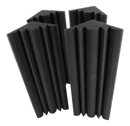 Imagen 1 de 9 de Muslady - Paneles De Espuma Acústica (4 Piezas, 48 X 12 X 12