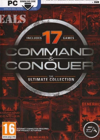 Command & Conquer Ultimate Pc - Origin Key (envio Rápido)