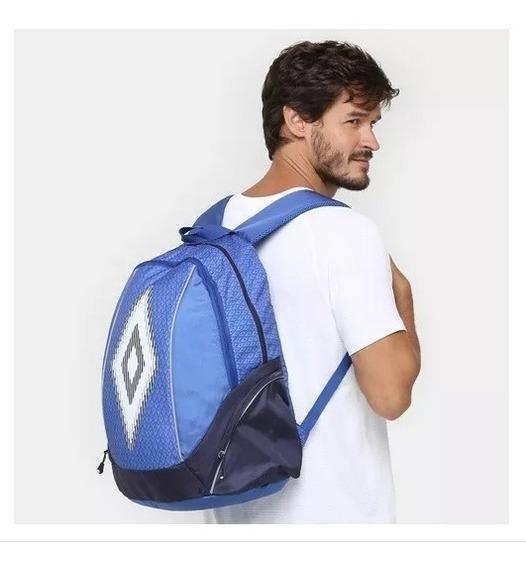 Mochila Umbro Backpack Cup Azul/marinho + Nota Fiscal