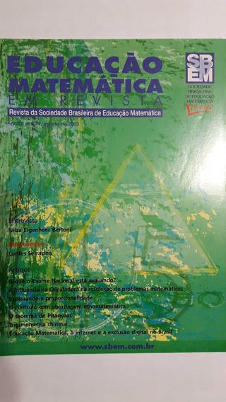Revista Educação Matemática - Sociedade Brasileira De Edu...