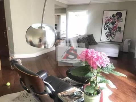 Apartamento Com 3 Dormitórios À Venda, 172 M² Por R$ 1.890.000,00 - Brooklin - São Paulo/sp - Ap37003
