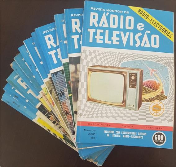 Revista Monitor De Rádio E Televisão - 20 Volumes Lote2