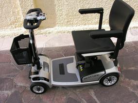 Scooter 200w Electrica 4 Ruedas Macizas Fesal