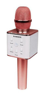 Micrófono Karaoke Bluetooth Ranser (mc-ra70ro)
