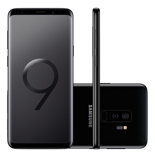Smartphone Samsung Galaxy S9 Plus 128gb Preto 4g Tela 6.2 Câ