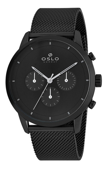 Relógio Oslo Ompsscvd0001 + Garantia De 1 Ano + Nf