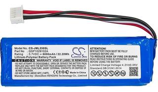 Bateria Gsp1029102a P/ Jbl Charge 3 Factura A O B