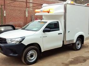 Ambulancia Rural Toyota Hi Lux 2018 Nueva