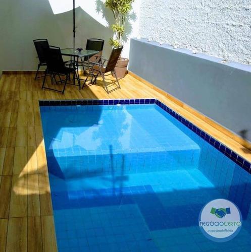 Casa Com 2 Dormitórios À Venda, 67 M² Por R$ 320.000,00 - Recanto Dos Bandeirantes - Itanhaém/sp - Ca0608