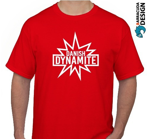 Remera Dinamarca Danish Dynamite Mundial Futbol Camiseta