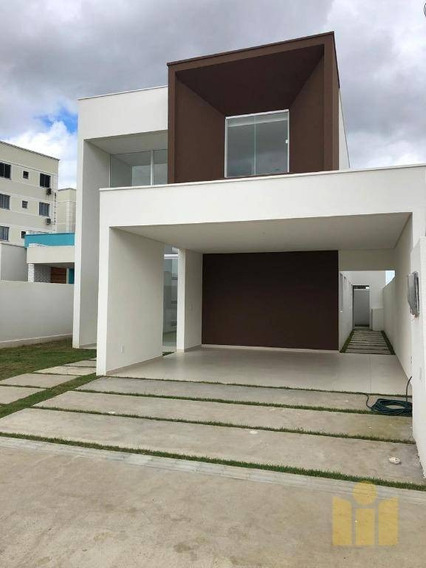 Casa Com 4 Dormitórios À Venda, 203 M² Por R$ 632.152 - Antares - Maceió/al - Ca0344