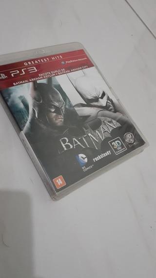 Batman Arkhan Asylum + Batman Arkhan Asylum Ps3