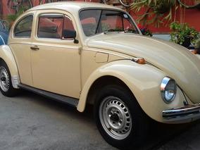 Volkswagen Vw Fusca 1986 Garagem Retrô