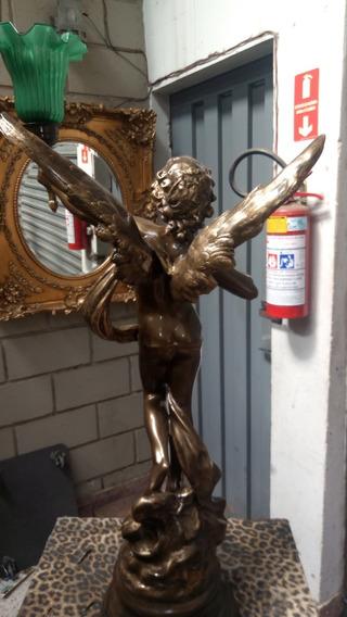 Luminaria De Anjo De Petit Bronze